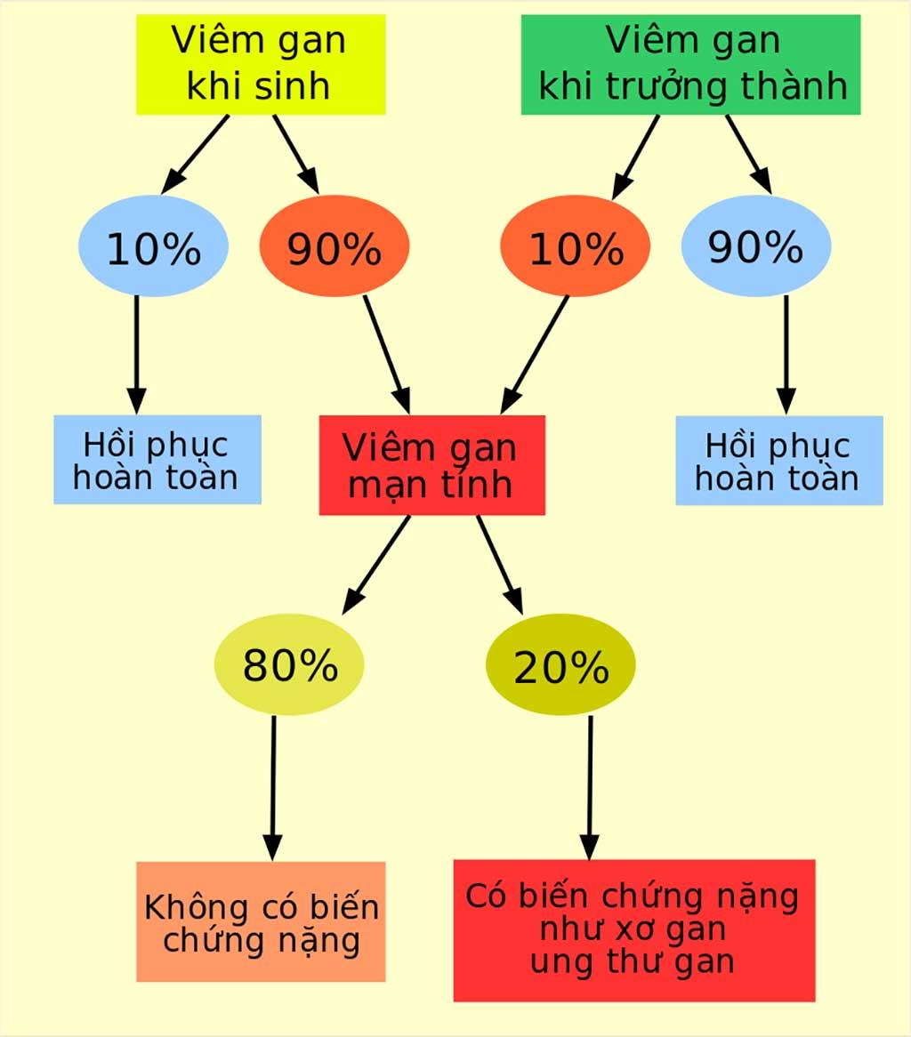 viêm gan mạn - Bệnh viên Tai Mũi Họng Sài Gòn
