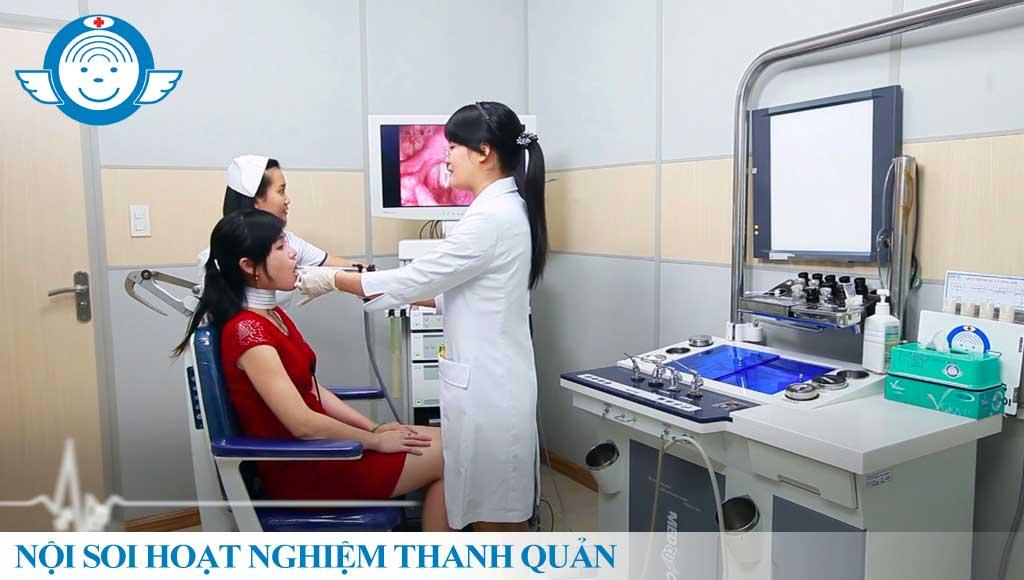 Nội soi Hoạt nghiệm thanh quản - Bệnh viện Tai Mũi Họng Sài Gòn