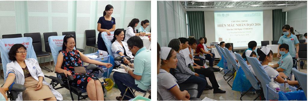 HIẾN MÁU NHÂN ĐẠO 2016 - Bệnh viện Tai Mũi Họng Sài Gòn