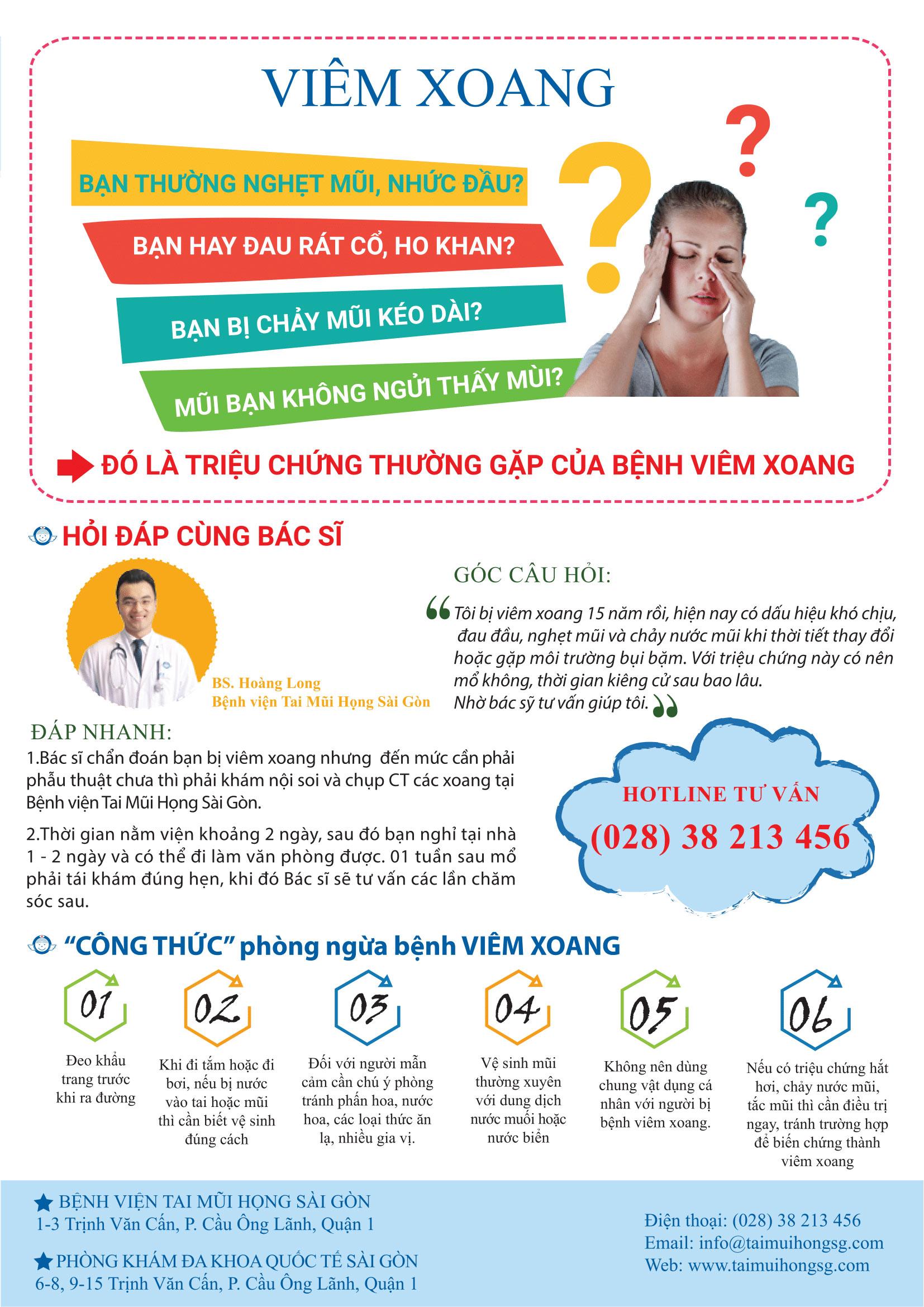 BẢN TIN SỨC KHỎE THÁNG 8 - BỆNH DẠ DÀY - VIÊM XOANG - Bệnh viện Tai Mũi Họng Sài Gòn