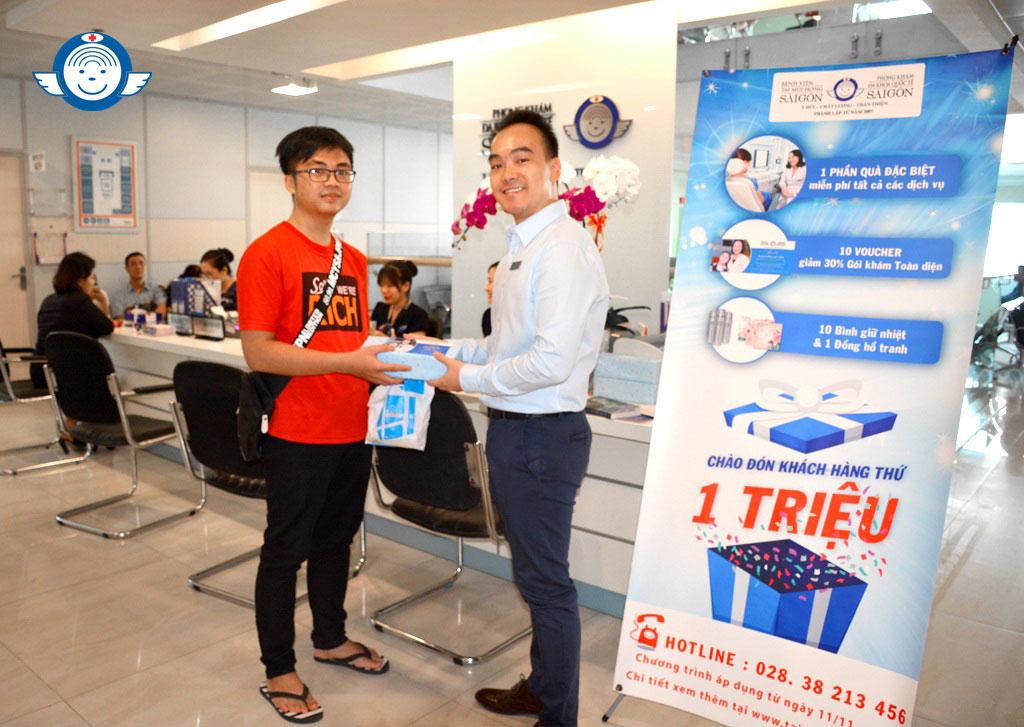 TRAO GIẢI CHƯƠNG TRÌNH ƯU ĐÃI CHÀO ĐÓN KHÁCH HÀNG THỨ 1 TRIỆU - Taimuihongsg.com
