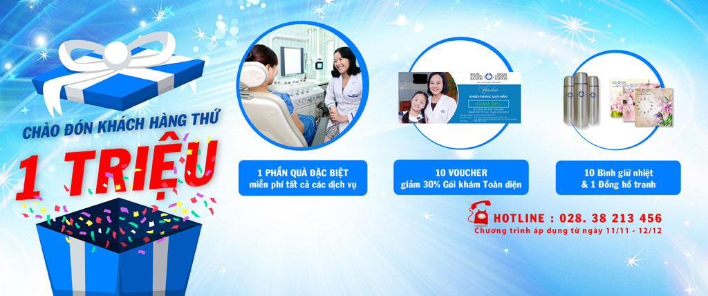 CHÀO ĐÓN KHÁCH HÀNG THỨ 1 TRIỆU - Bệnh viện Tai Mũi Họng Sài Gòn
