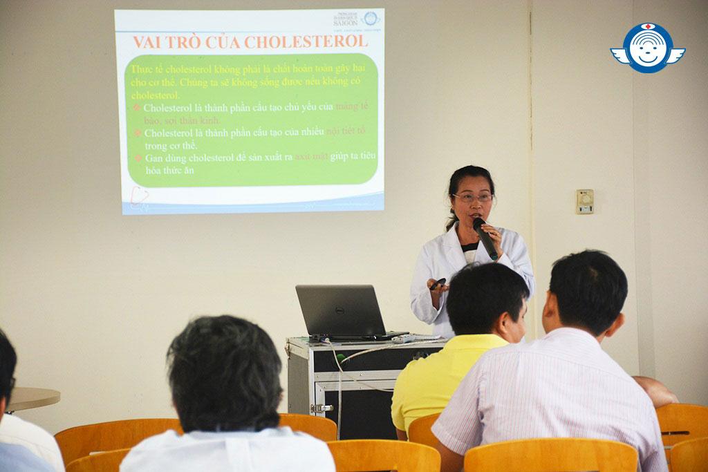 BUỔI TƯ VẤN SỨC KHỎE CHUYÊN ĐỀ RỐI LOẠN LIPID MÁU – Phòng Khám Đa Khoa Quốc Tế Sài Gòn