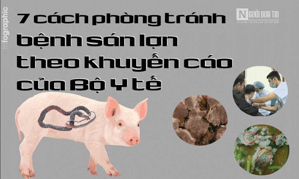 7 cách phòng tránh bệnh sán lợn theo khuyến cáo của Bộ Y tế - Bệnh viện Tai Mũi Họng Sài Gòn