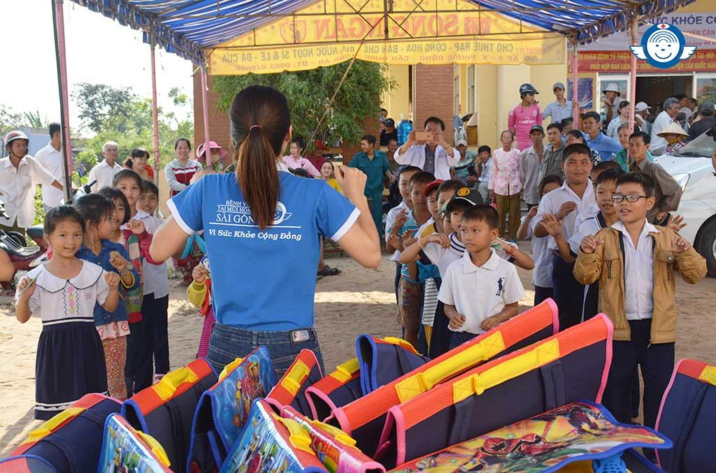 Vì sức khỏe cộng đồng - Bệnh viện Tai Mũi Họng Sài Gòn