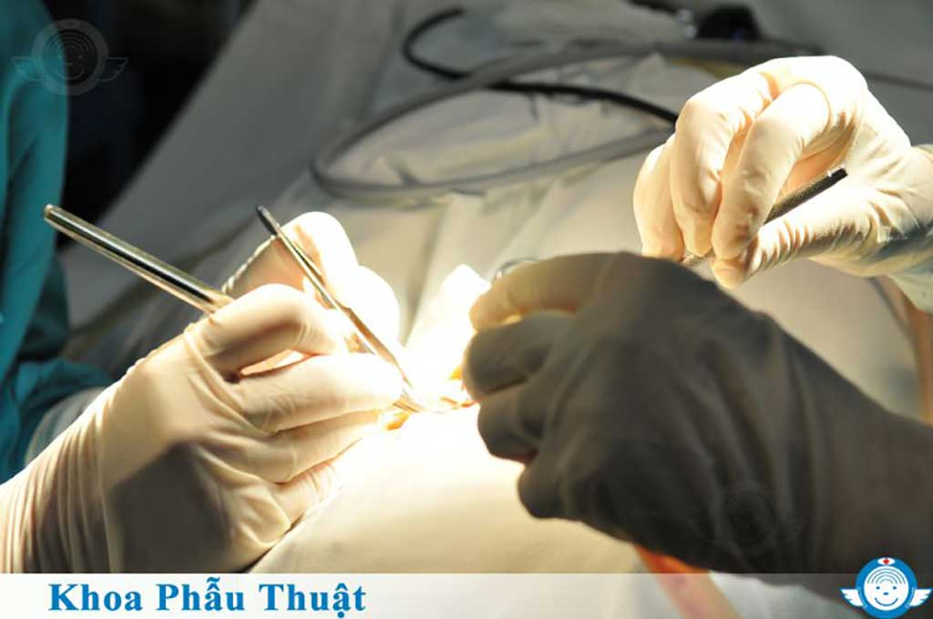 Khoa phẩu thuật - Bệnh viện Tai Mũi Họng Sài Gòn
