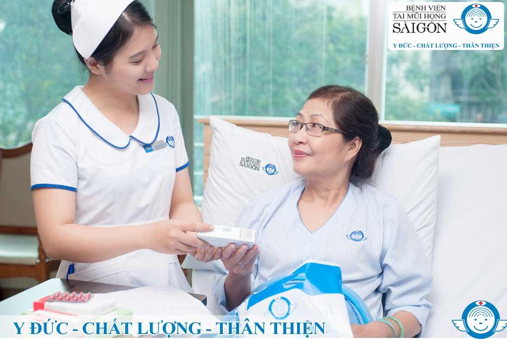 Dịch vụ nội trú - Bệnh viện Tai Mũi Họng Sài Gòn