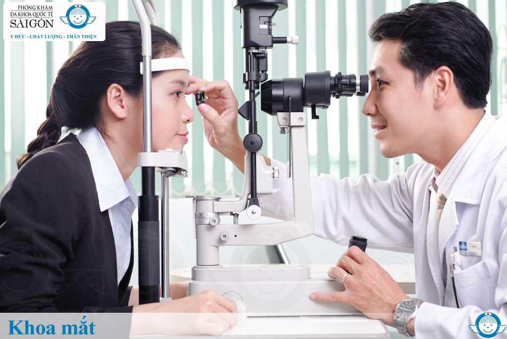 Khoa mắt - Phòng khám đa khoa quốc tế Sài Gòn