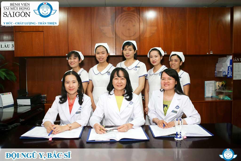 Khoa Mũi xoang – Họng – Thanh quản - Bệnh viện Tai Mũi Họng Sài Gòn