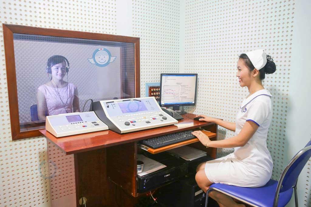 Khoa Tai Thính Học - Bệnh viện Tai Mũi Họng Sài Gòn