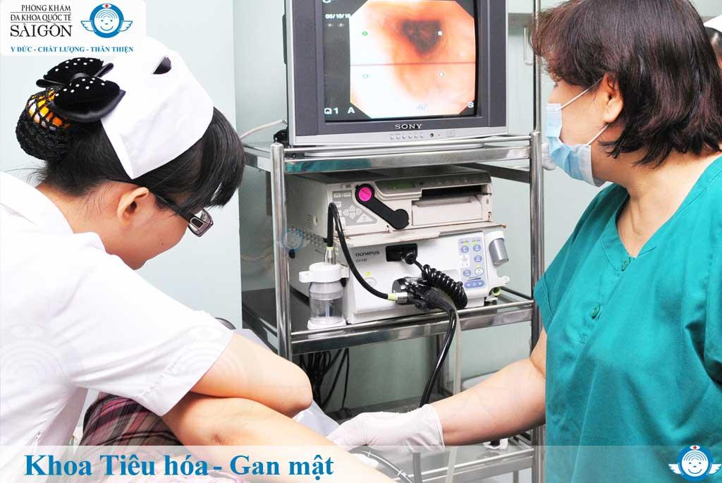 Khoa Tiêu hóa - Gan Mật - Đa Khoa Quốc Tế Sài Gòn