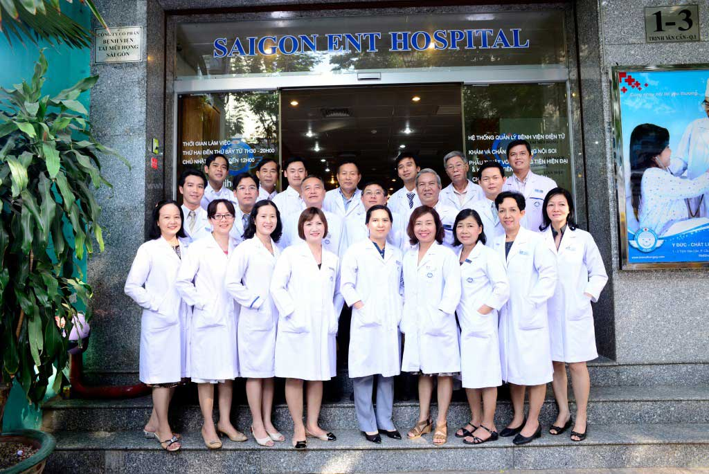 Nhân viên Bệnh viện Tai Mũi Họng Sài Gòn