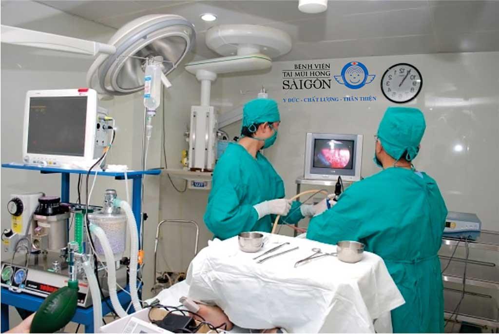 Phẩu thuật Nội soi - Bệnh viện Tai Mũi Họng Sài Gòn