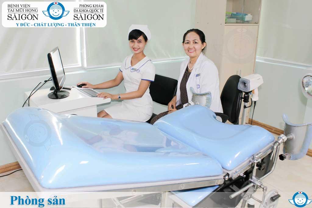 Phòng sản - Phòng khám đa khoa quốc tế Sài Gòn
