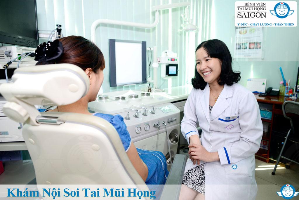 Khám tai mũi họng nội soi - Bệnh viện Tai Mũi Họng Sài Gòn