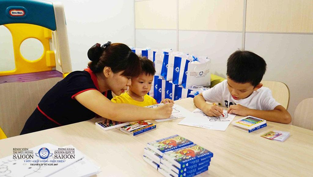 Quốc Tế Thiếu Nhi 2019 - Bệnh viện Tai Mũi Họng Sài Gòn