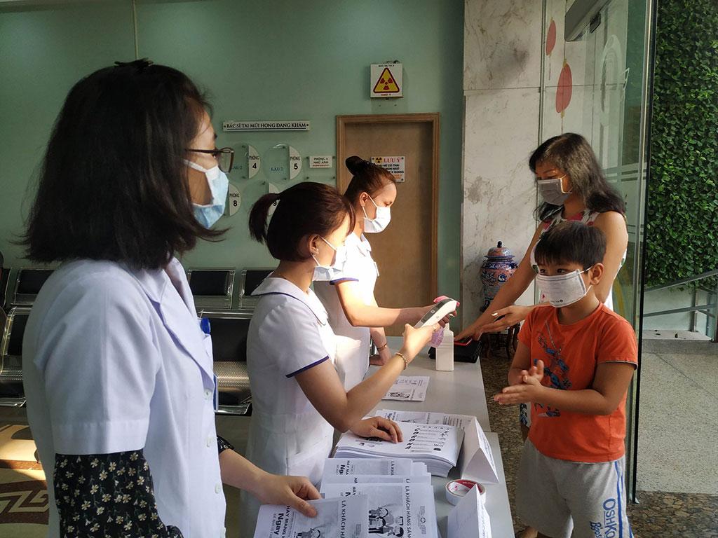 Phòng ngừa Corona - Bệnh viện Tai Mũi Họng Sài Gòn