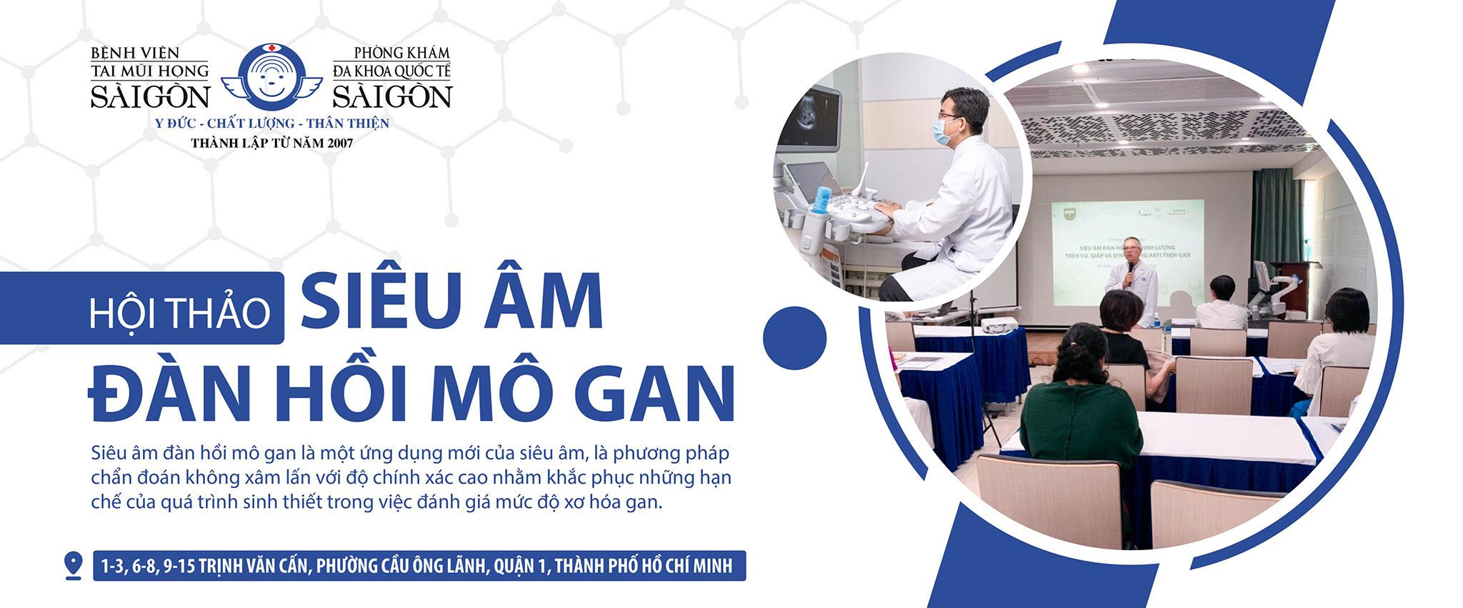 SIÊU ÂM ĐÀN HỒI MÔ GAN | Phòng khám Đa Khoa Quốc tế Sài Gòn