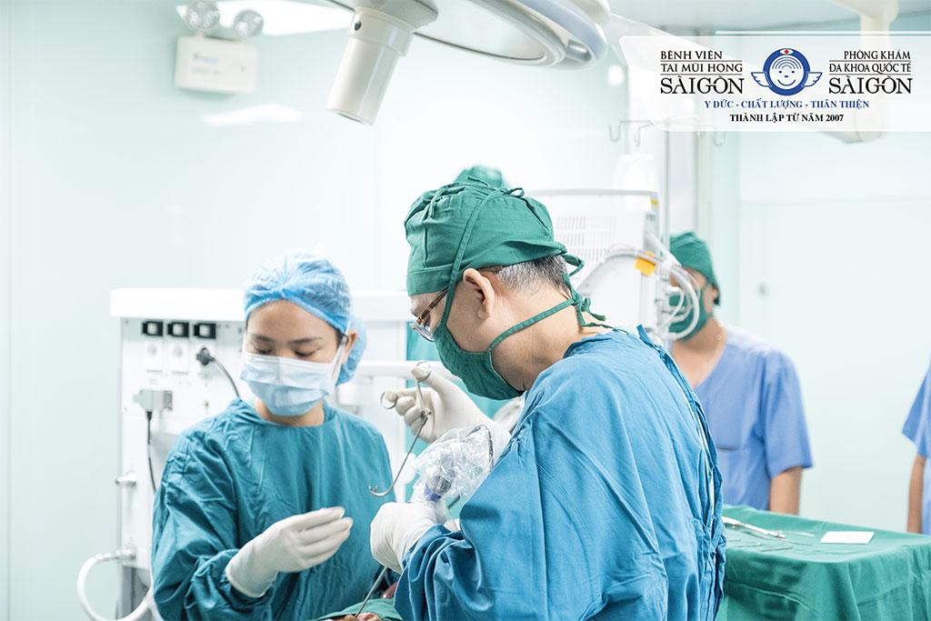 Khoa Phẫu thuật Tai Mũi Họng - Bệnh viện Tai Mũi Họng Sài Gòn