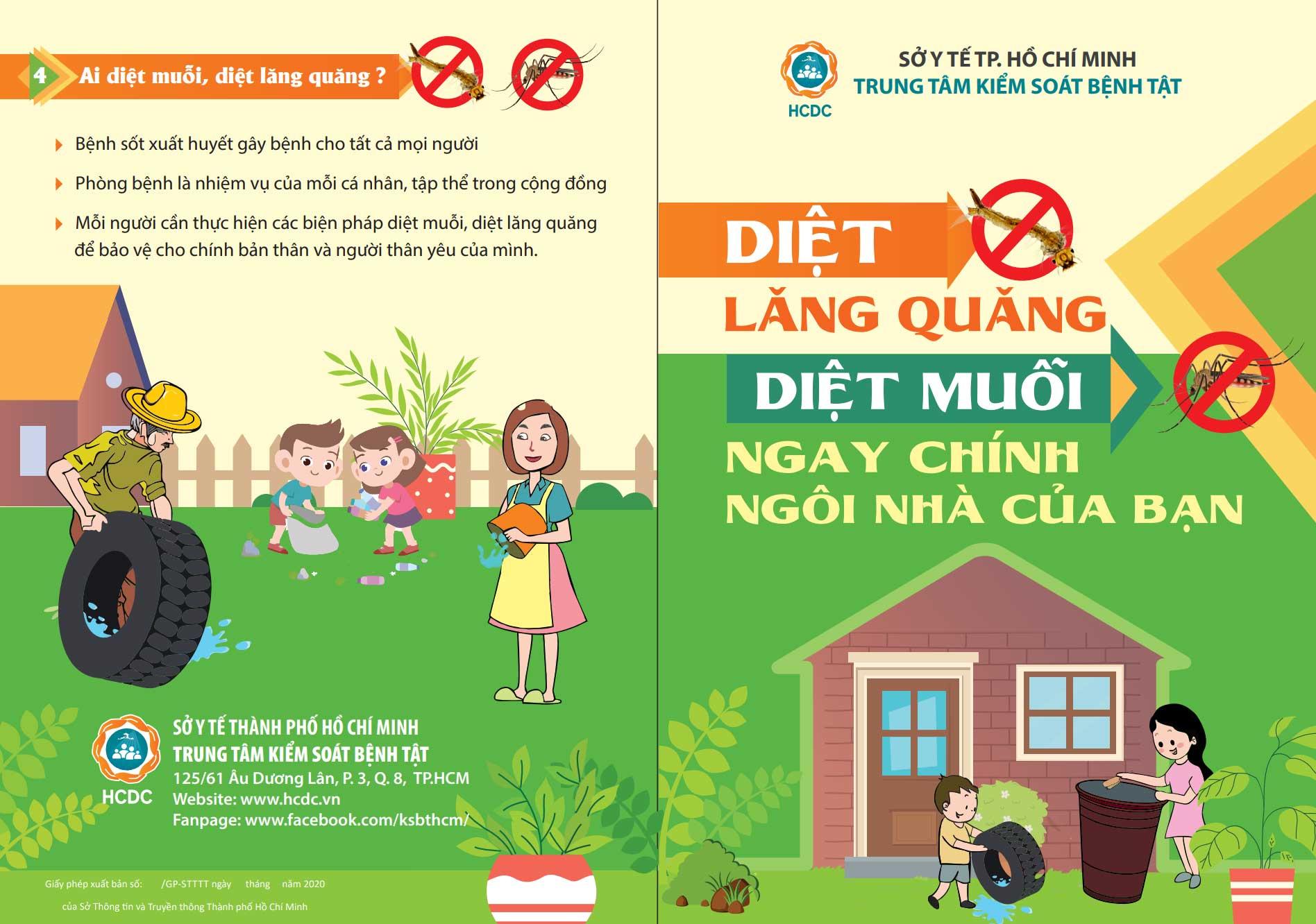 Diệt lăng quăng, diệt muỗi ngay chính ngôi nhà của bạn - Taimuihongsg.com