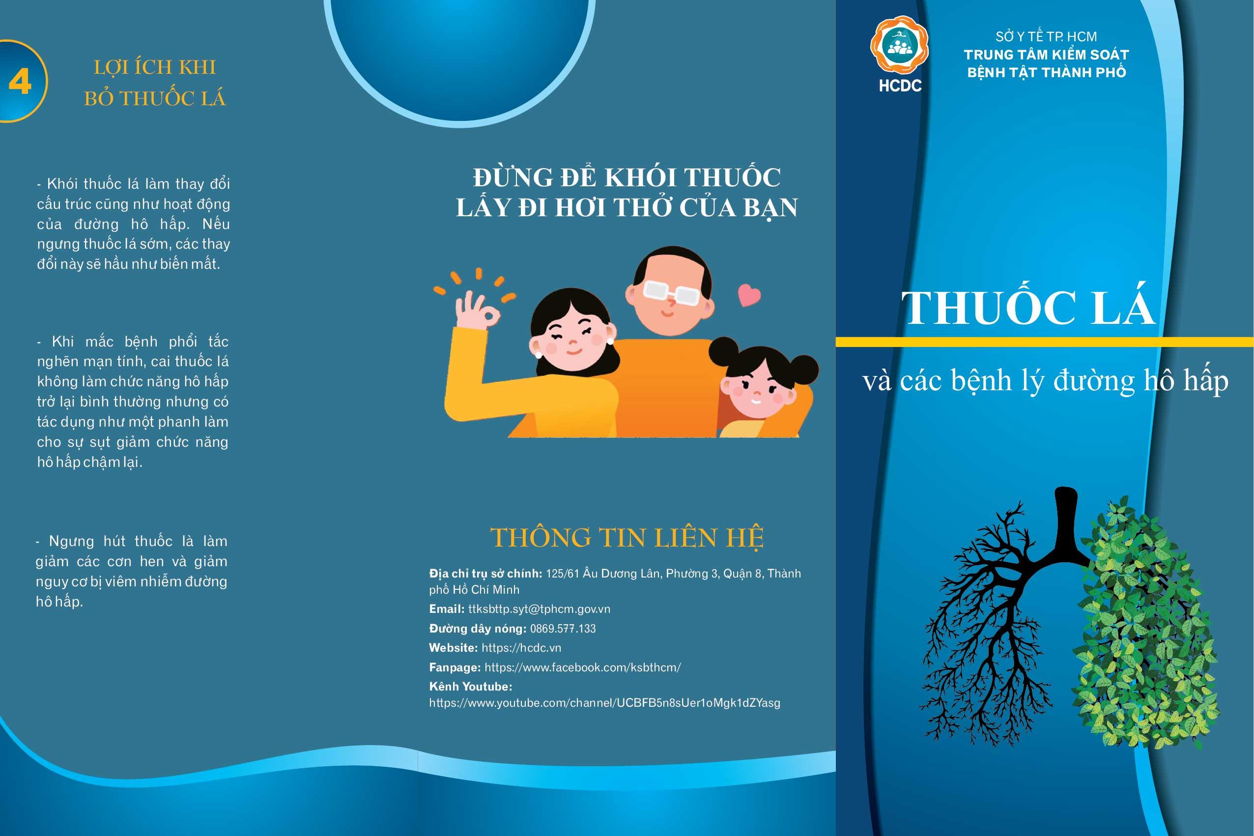 Thuốc lá và các bệnh lý đường hô hấp - Taimuihongsg.com