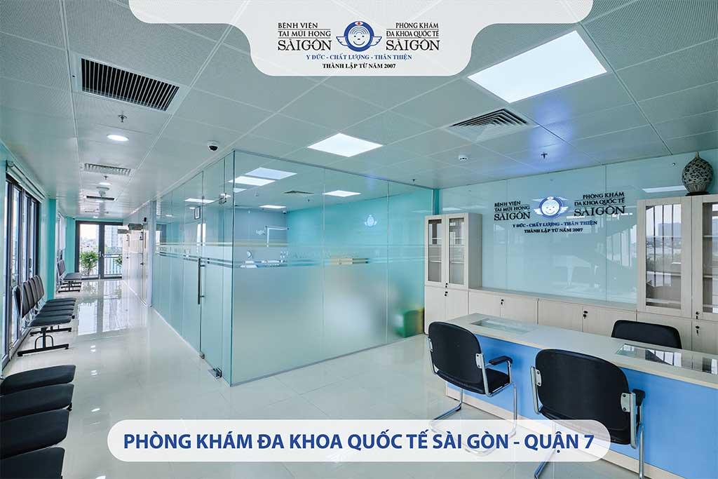 Chi nhánh Phòng Khám Đa Khoa Quốc Tế Sài Gòn – Quận 7 - Taimuihongsg.com